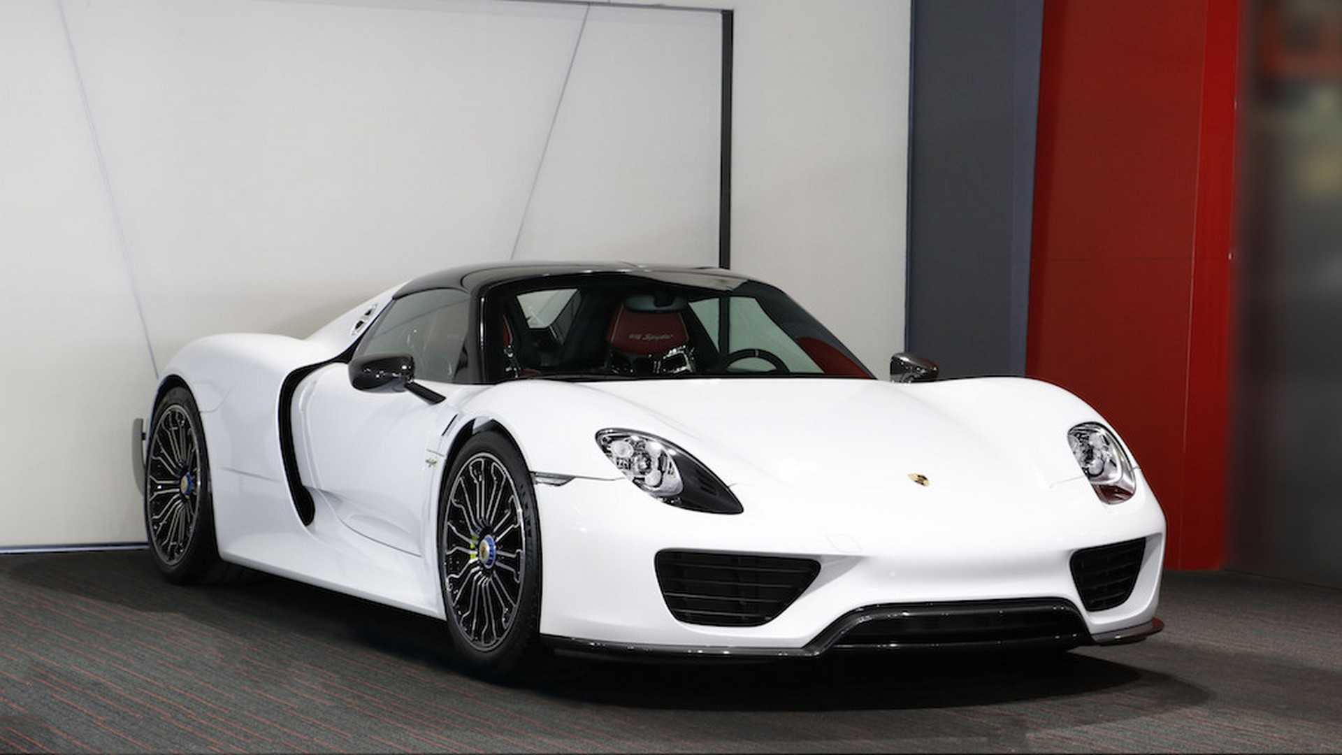 Porsche 918 Spyder For Sale >> You Can Still Buy A New Porsche 918 Spyder 61 Photos