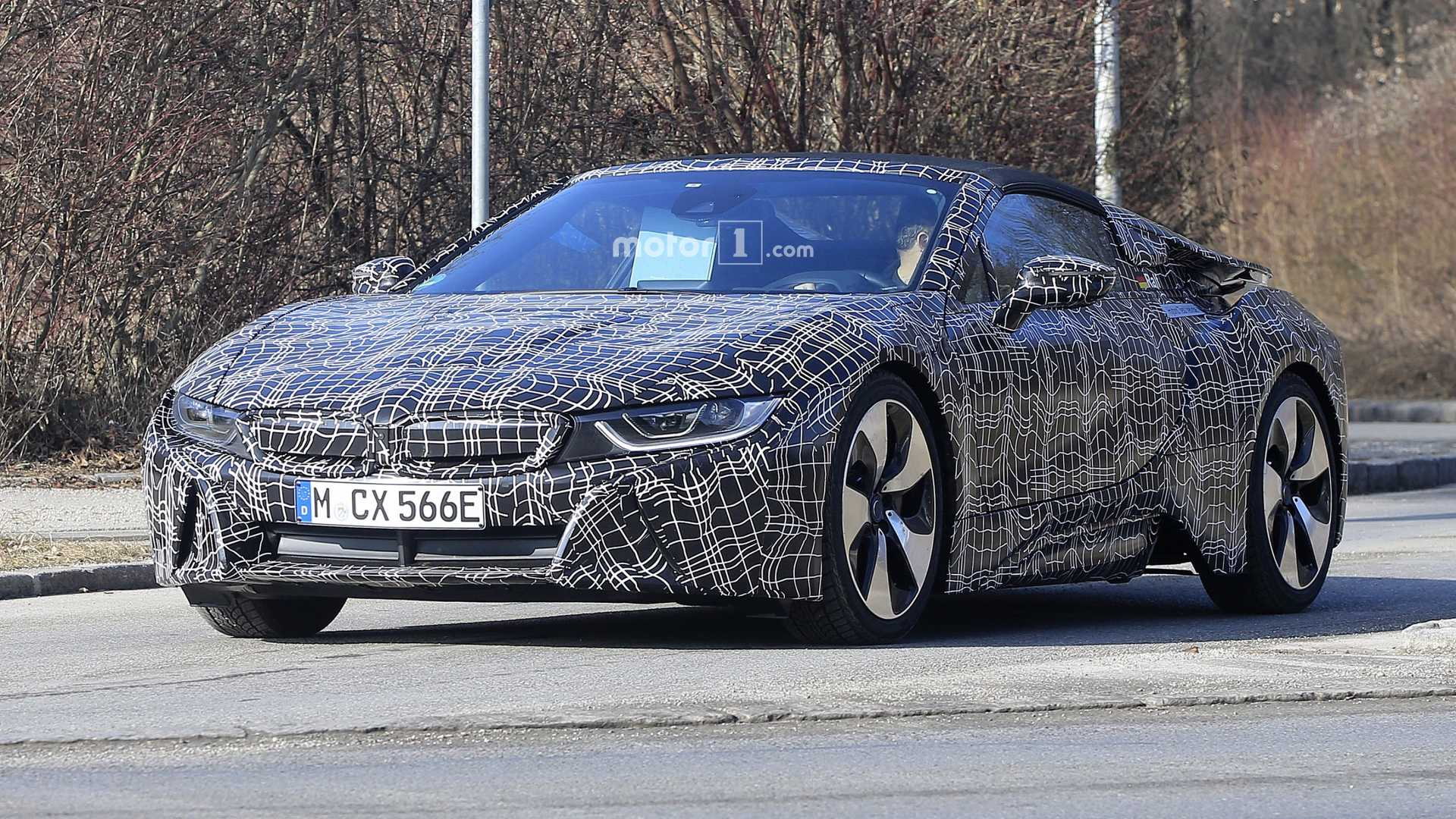 2018 BMW I8 To Get Power Boost 420 Hp