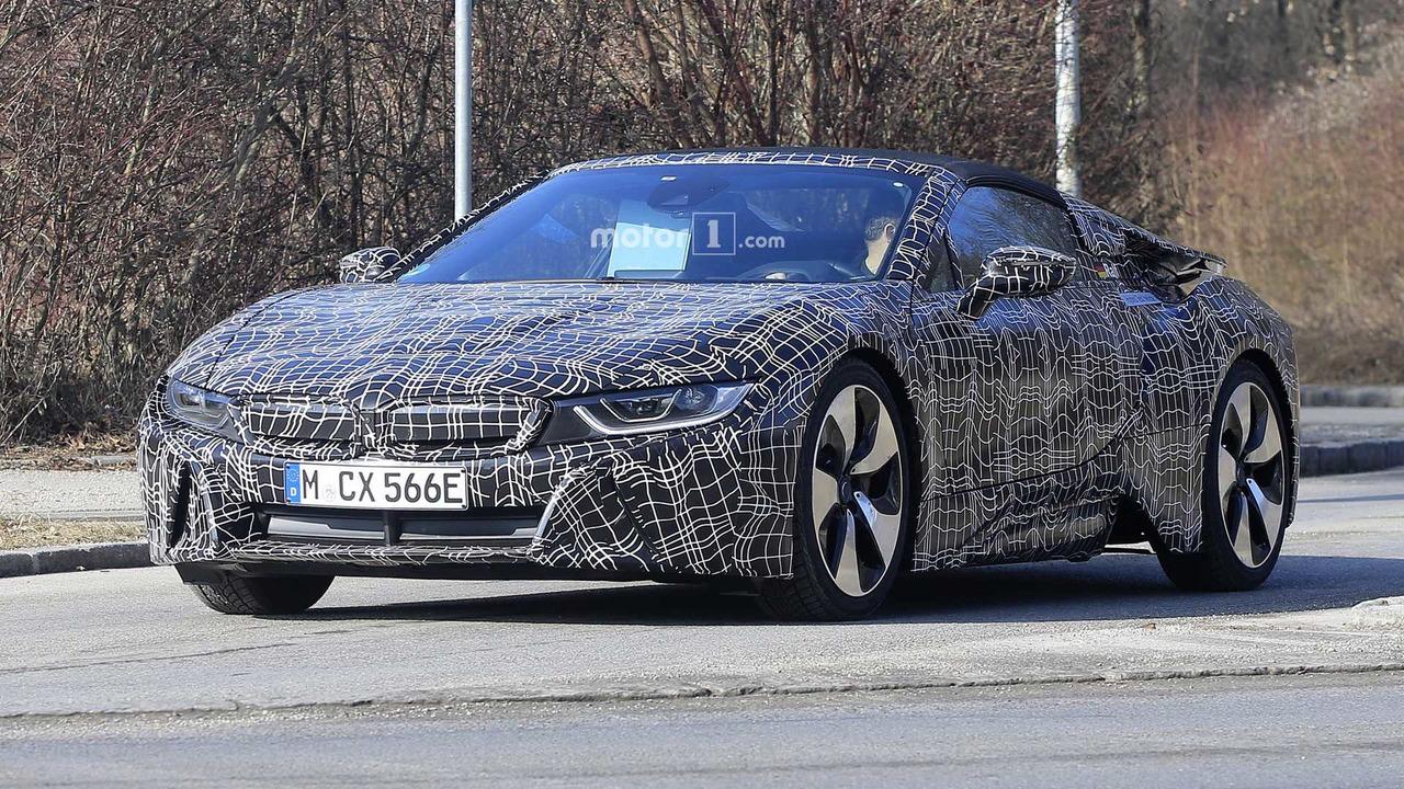 2018 BMW i8 Spyder yeni casus fotoğraflar