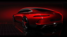 Teaser do Mercedes-AMG GT Concept