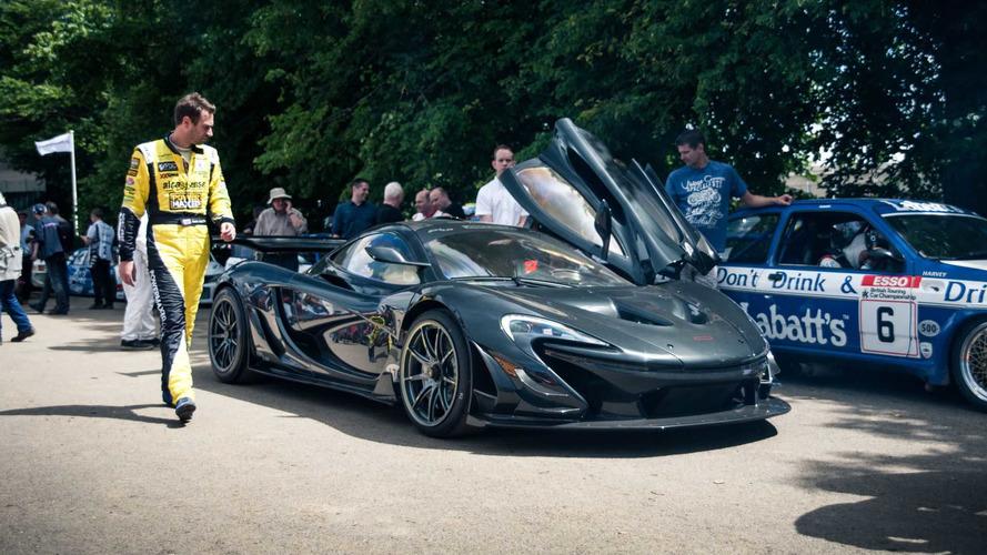McLaren P1 LM en Goodwood