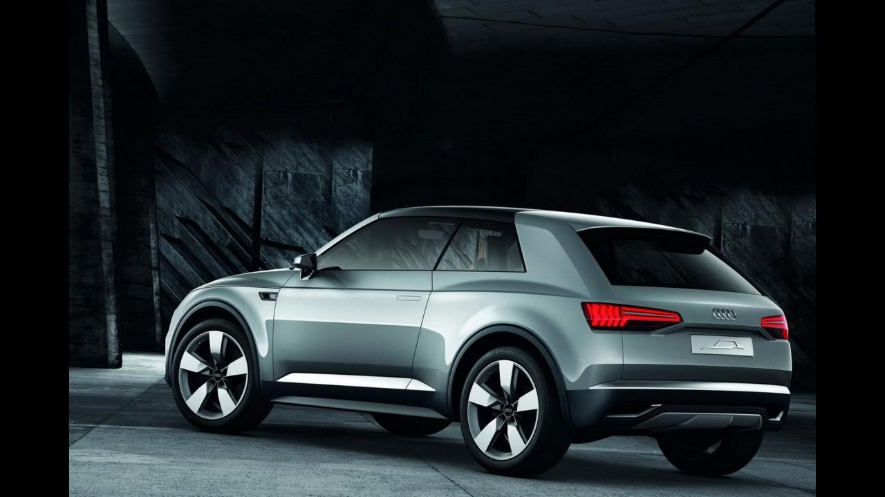 Audi planeja duplicar linha de crossovers com modelos Q2, Q4 e Q6