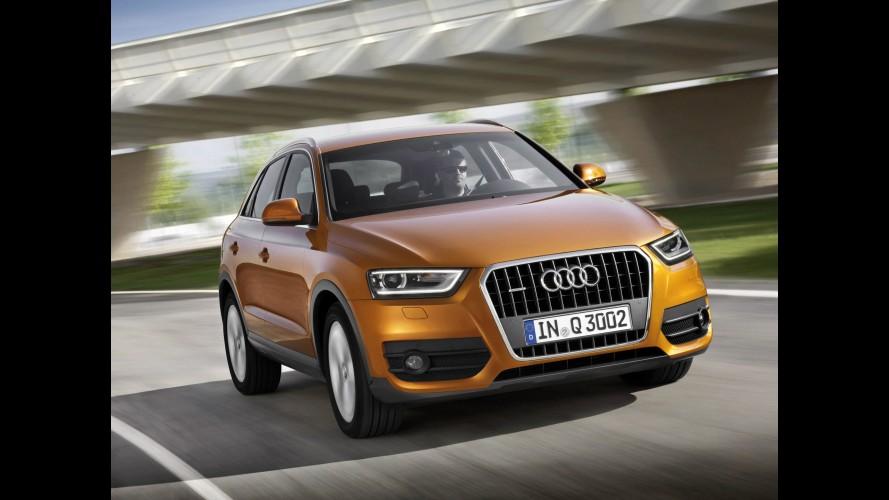 Pegada esportiva: Audi Q3 RS será lançado no ano que vem com motor de 310 cavalos