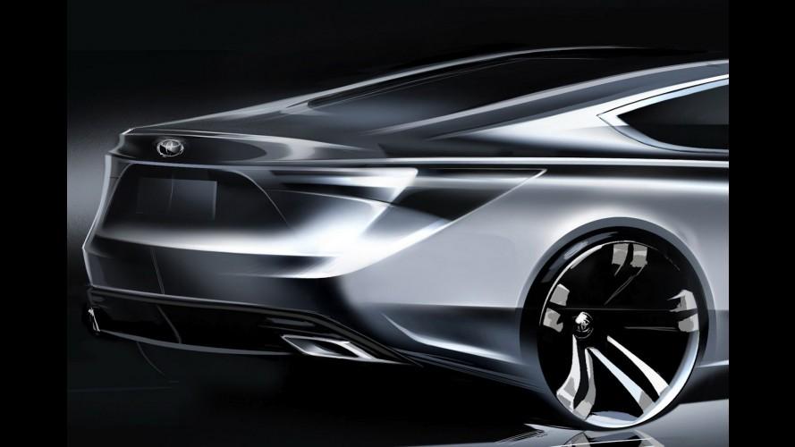 Toyota confirma apresentação de novo sedã no Salão de Nova York