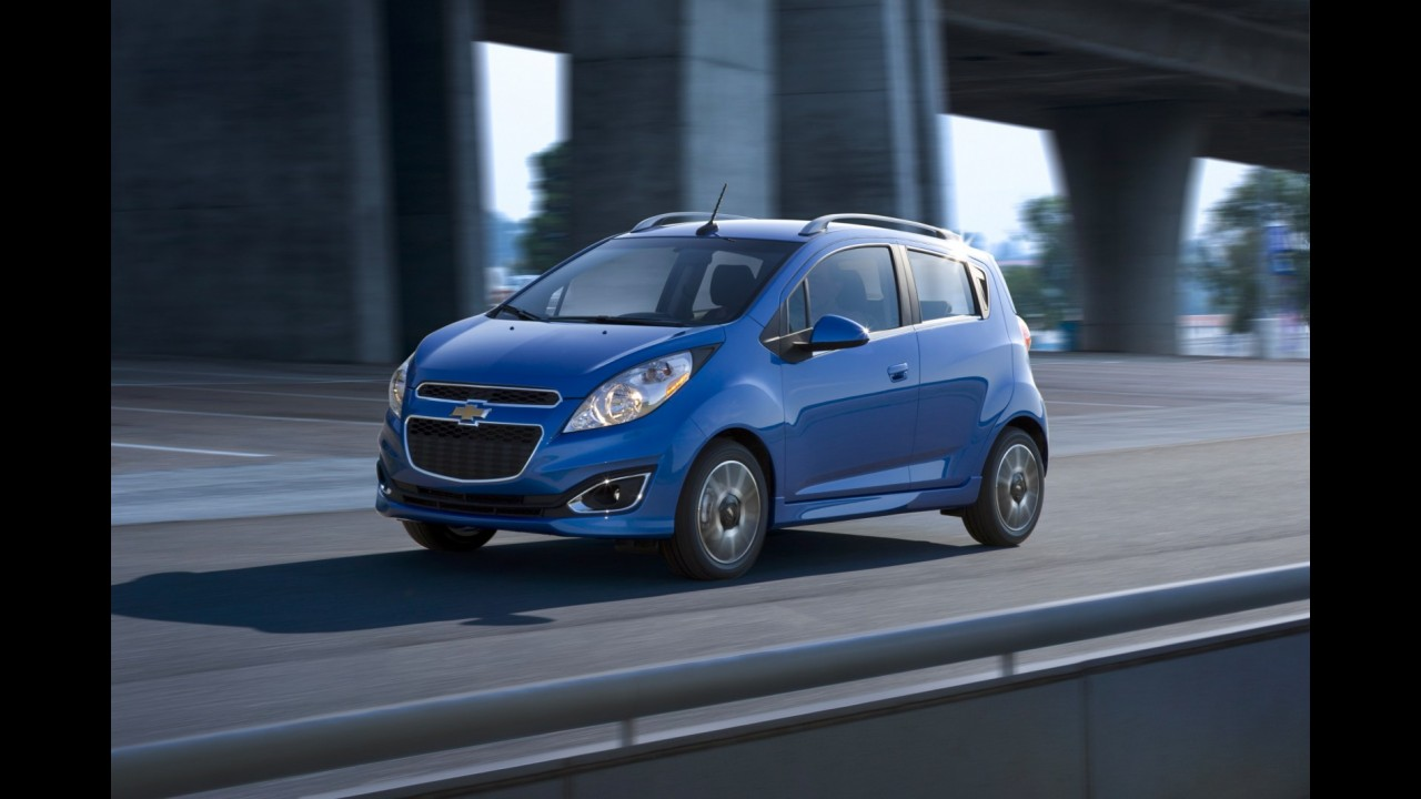 "Chevrolet Spark ""completaço"" custará a partir de 12.995 dólares nos Estados Unidos"