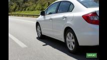 Garagem CARPLACE: Impressões ao dirigir o Novo Civic na estrada e dados de desempenho