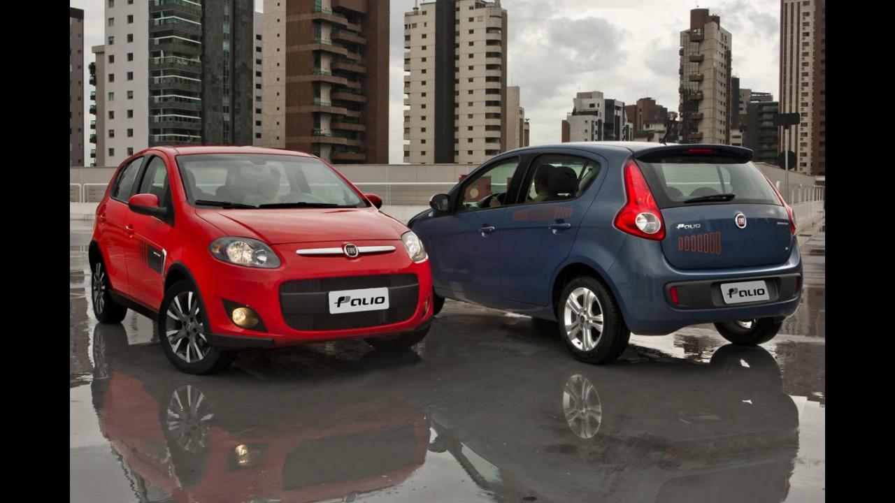 BRASIL, 1ª quinzena de fevereiro: Fiat retoma liderança e Chevrolet despenca
