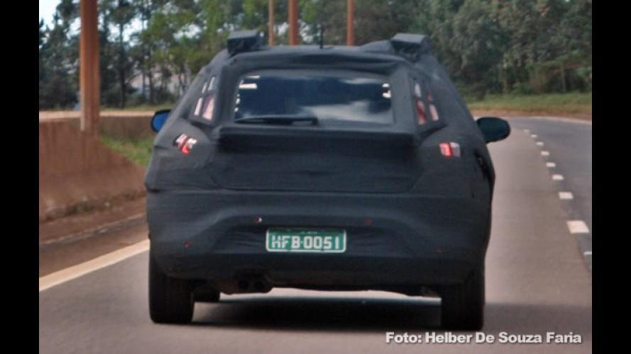 Ainda em testes: Leitor flagra Fiat Bravo com muita camuflagem