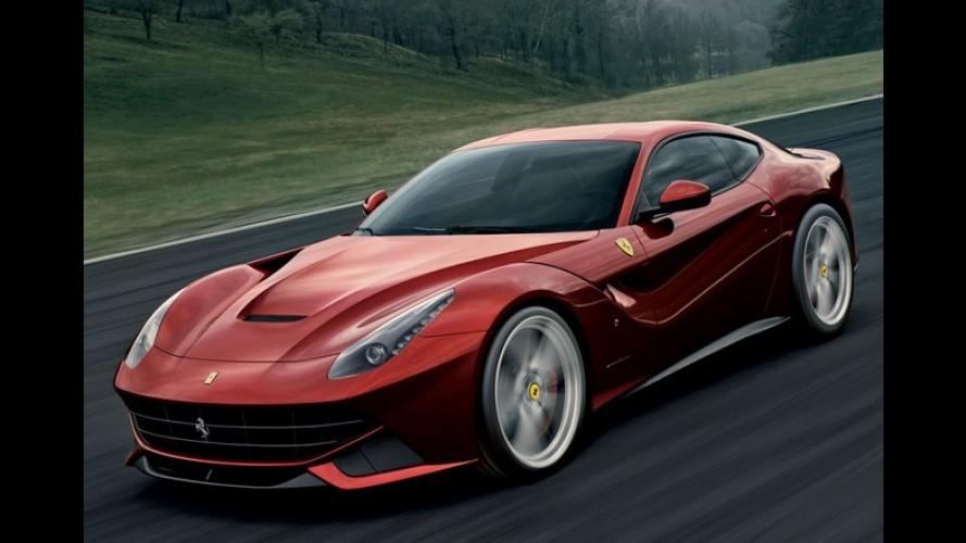 Sucesso: Ferrari vende um ano inteiro de produção da F12berlinetta
