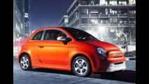 Elétrico: Fiat 500E tem as primeiras imagens reveladas - Modelo será apresentado no Salão de Los Angeles