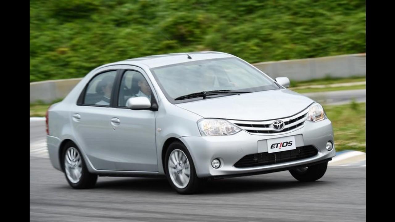 Toyota inaugura a terceira fábrica no Brasil - Unidade de Sorocaba irá produzir o Etios