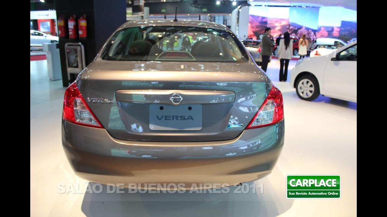 Salão de Buenos Aires: Nissan apresenta o Novo Versa Sedan