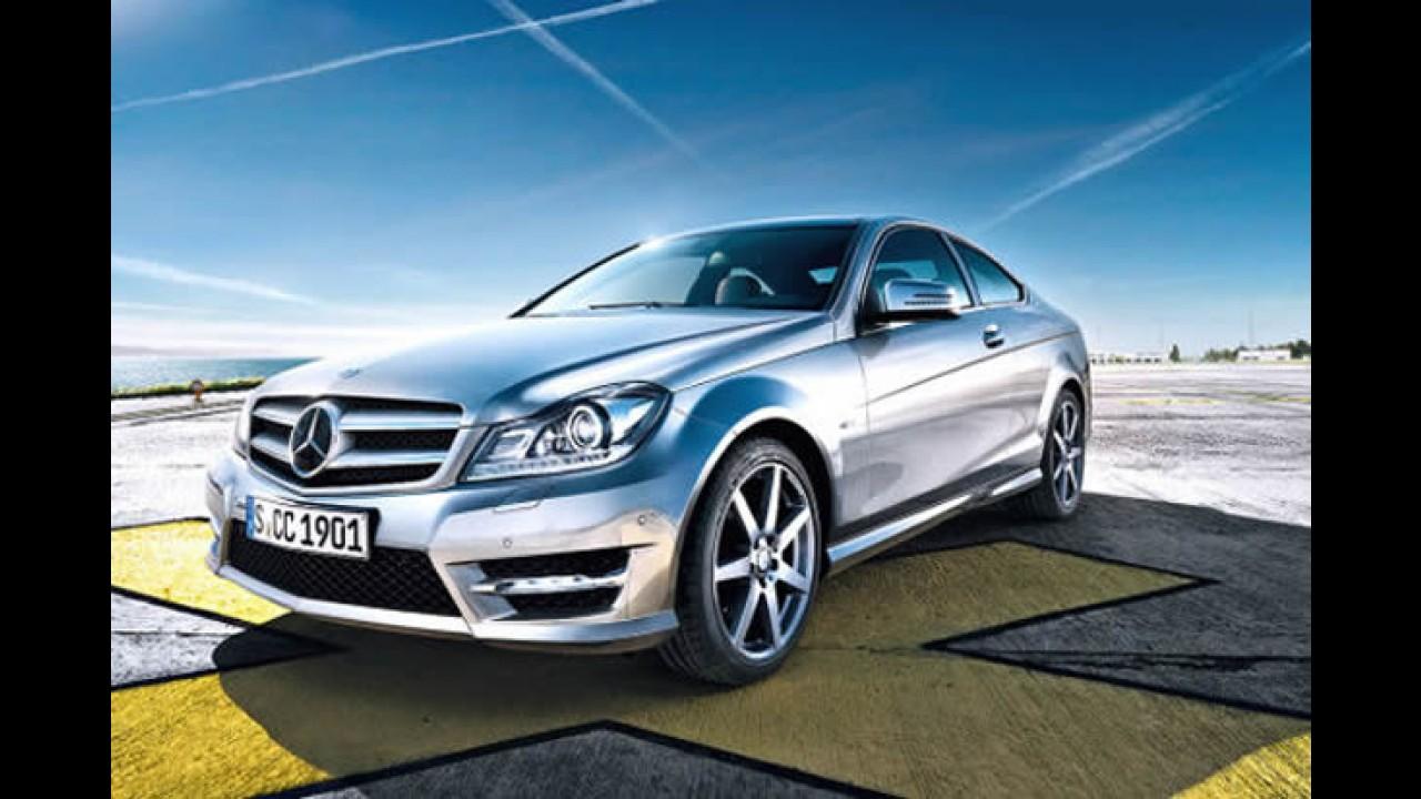 Primeiras imagens oficiais da nova Mercedes Classe C Coupé