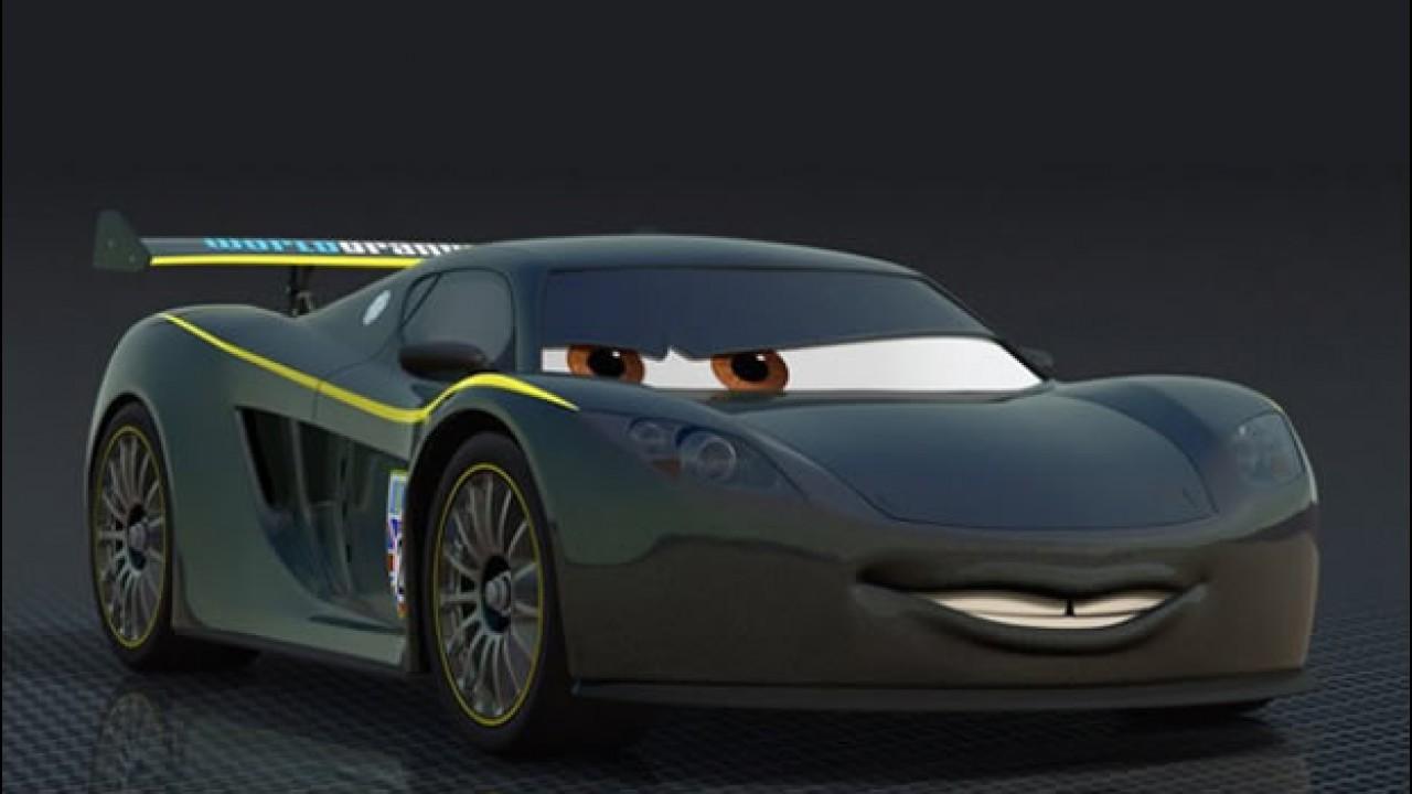 lewis hamilton vira desenho animado em carros 2 motor1 com fotos