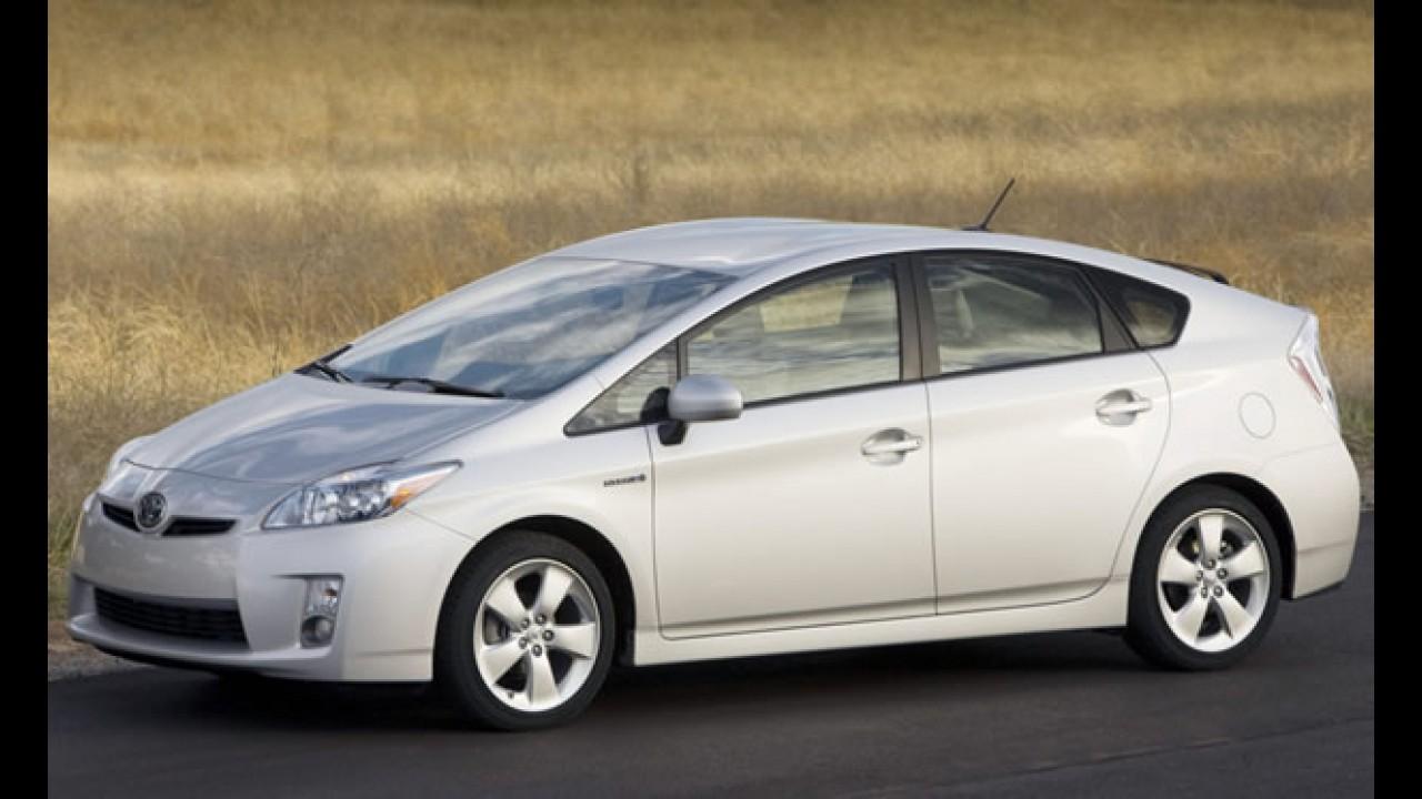 Toyota comemora 1 milhão de Prius vendidos nos Estados Unidos