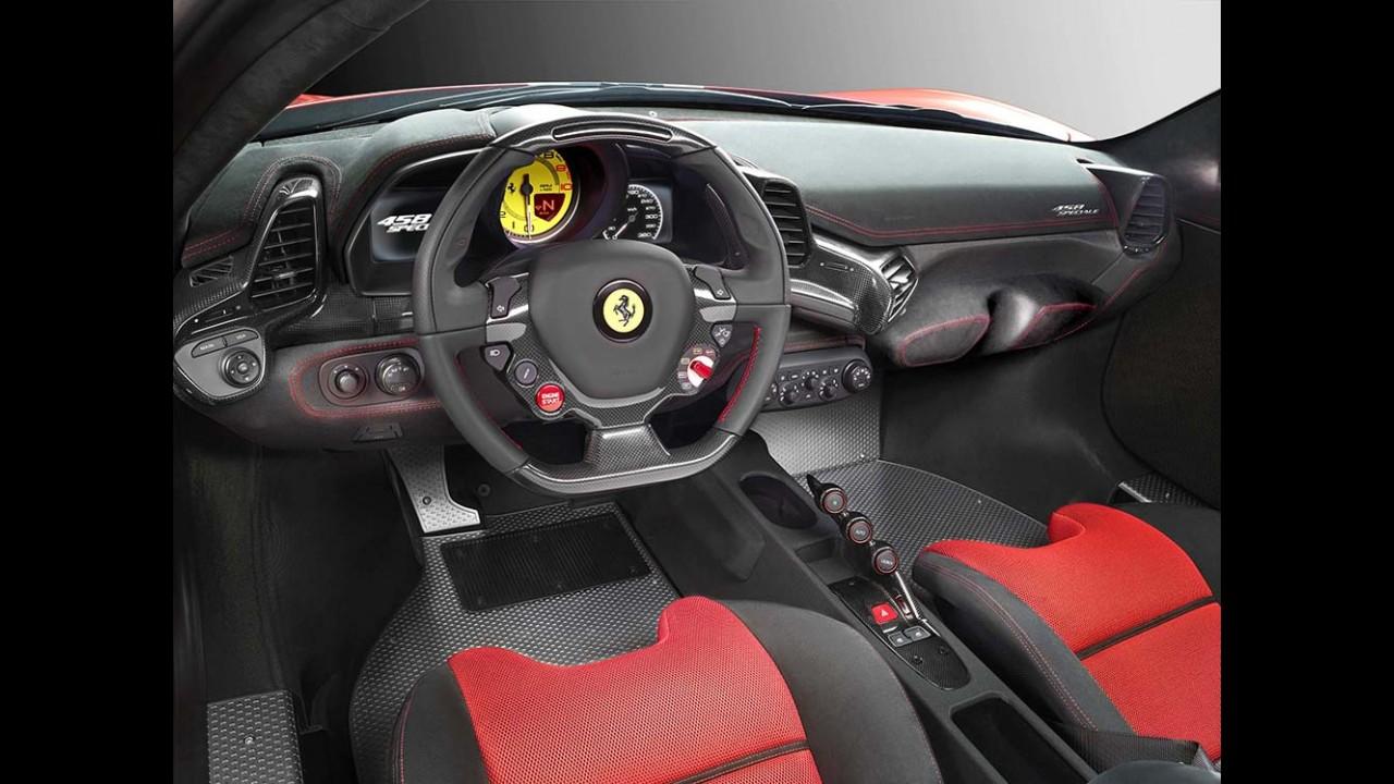 Ferrari apresenta F458 Speciale, com o motor V8 mais potente da marca