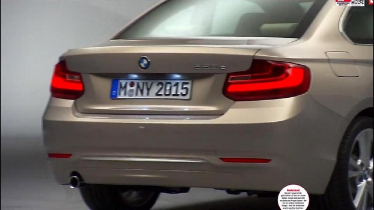 De novo! Vazam mais imagens do novo BMW Série 2