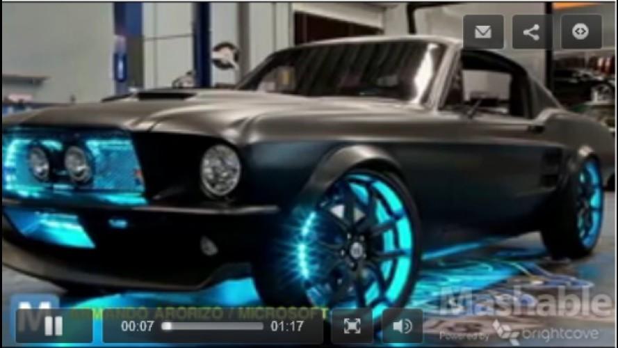 VÍDEO: Um velho Mustang high-tech