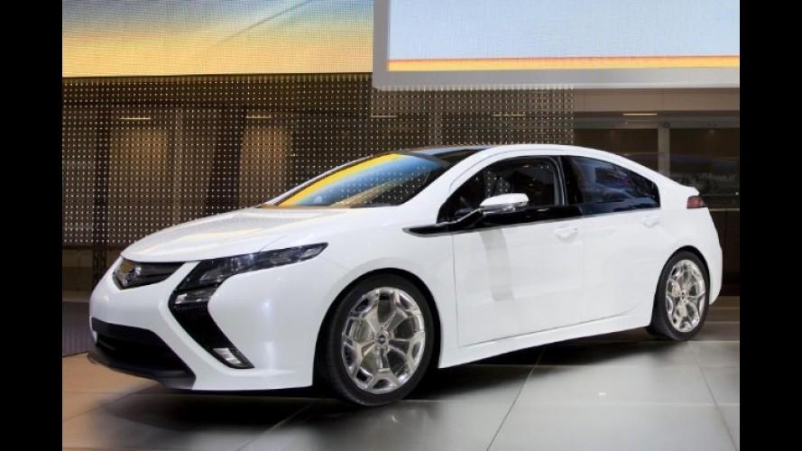 Procura pelo Opel Ampera cresce na Europa