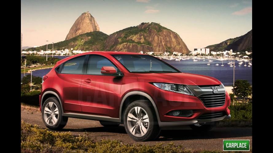 Segredo: conheça o SUV do Fit que será feito no Brasil - rival do EcoSport, ele chega em 2015