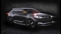 SsangYong mostrará crossover SIV-1 Concept no Salão de Genebra