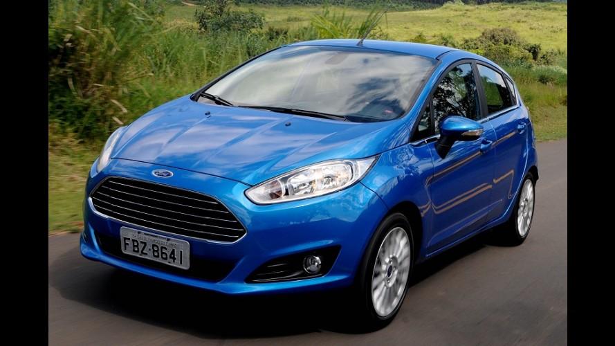 New Fiesta com motor 1.6 ganha Assistência de Emergência e AppLink de série