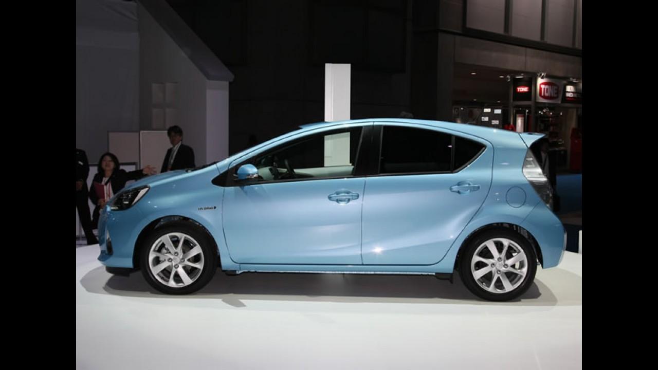 Híbrido: Toyota Aqua Hybrid é lançado no Japão pelo equivalente a R$ 40.300