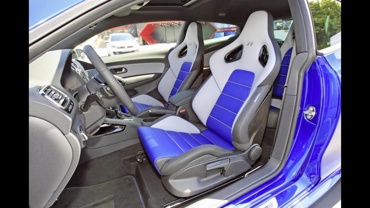 Volkswagen Scirocco R Blue Concept é mostrado no Wörthersee Tour 2012