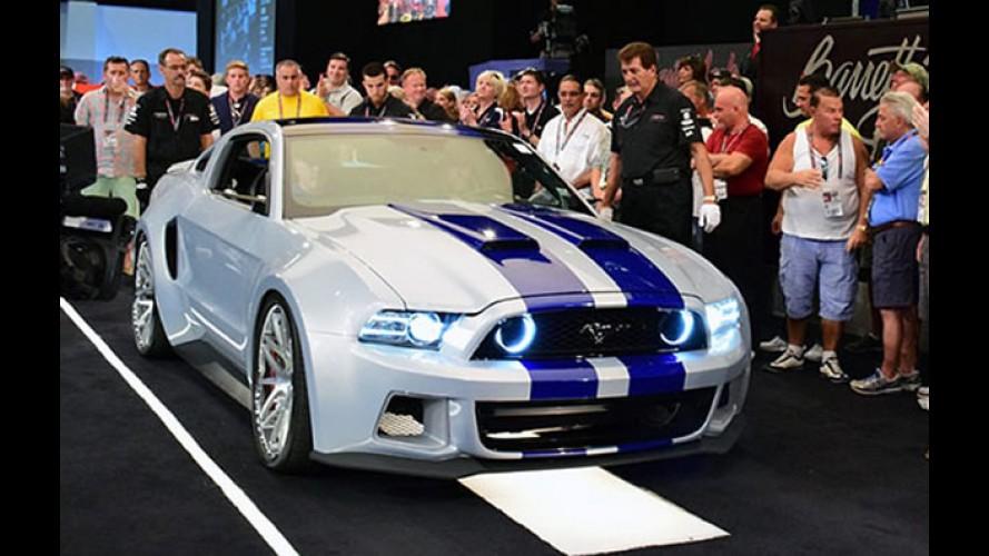 """Mustang do filme """"Need for Speed"""" é vendido por US$ 300 mil"""