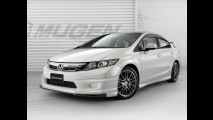 Honda Civic recebe preparação da Mugen no mercado asiático
