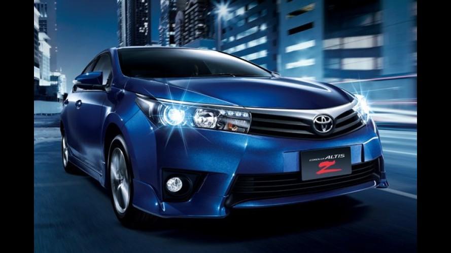 Novo Corolla estreia na Ásia - Taiwan é o primeiro país a receber o modelo