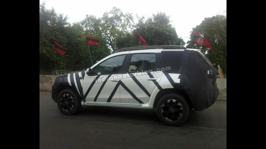 Flagra: Nissan Terrano é pego em teste na Índia