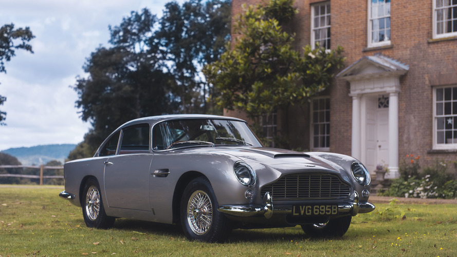 une aston martin db5 vendue aux ench res avec apple pay. Black Bedroom Furniture Sets. Home Design Ideas