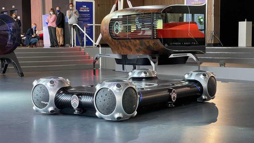 Citroën convierte el coche en un monopatín. Y no es una broma