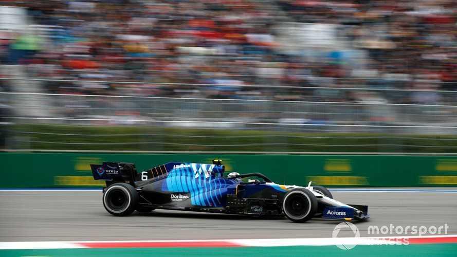 Williams F1 car 'the best it's ever felt' in Russia - Latifi