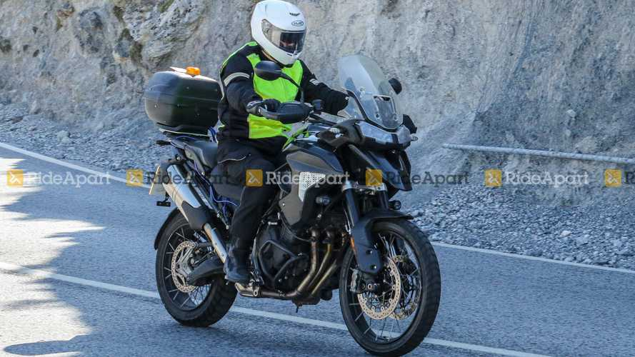 Spotted: 2022 Triumph Tiger 1200 With No Camo Out Testing