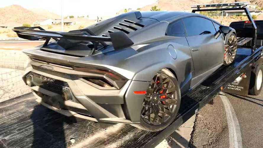 Noleggia una fantastica Lamborghini Huracan STO e la distrugge