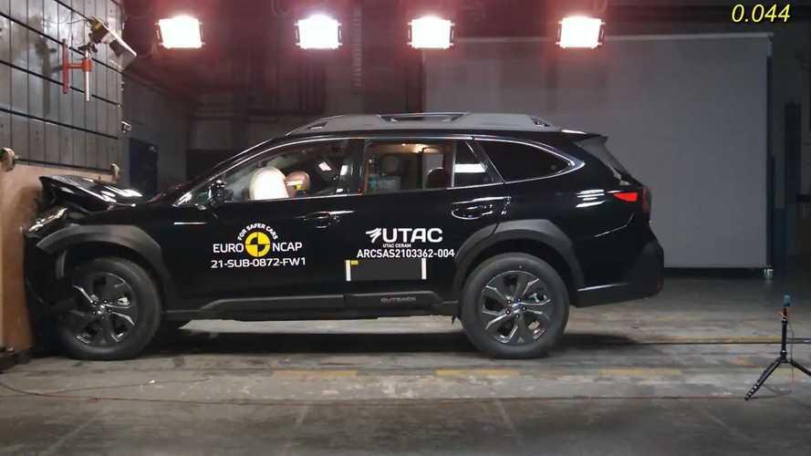 Subaru Outback: EuroNCAP-Crashtest
