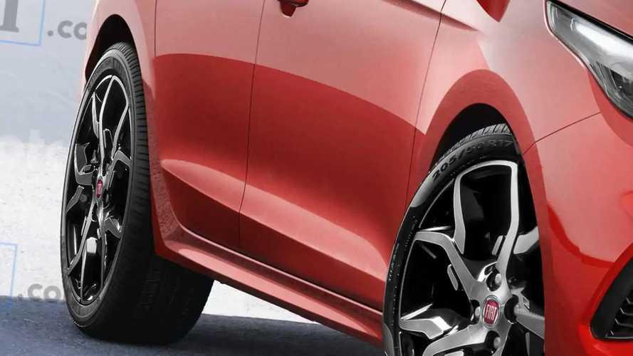 Novo Fiat Punto 2023 - Projeção