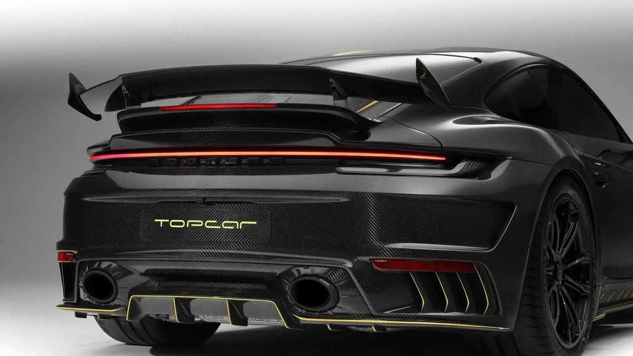 Porsche 911 Turbo TopCar Design carbon fiber