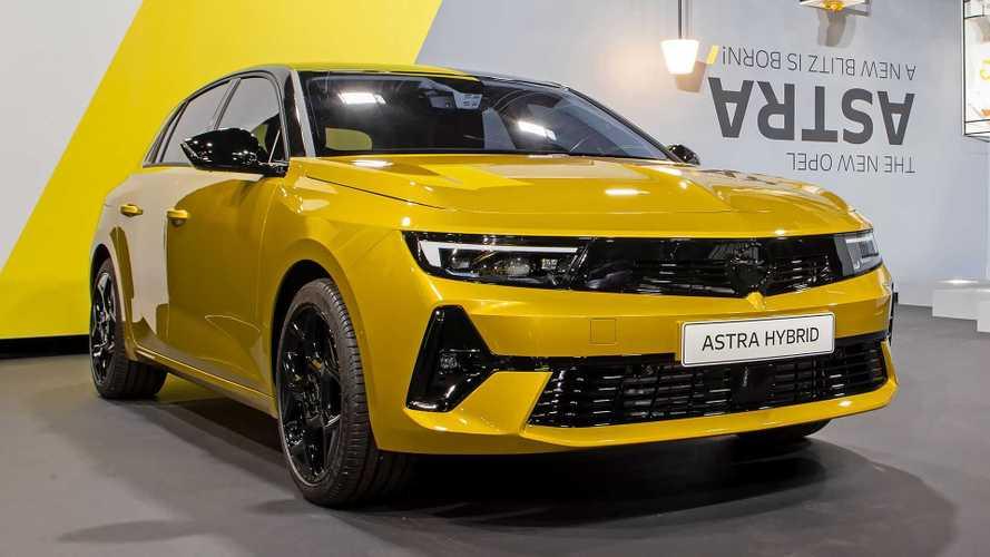 Opel Astra 2022, presentación estática
