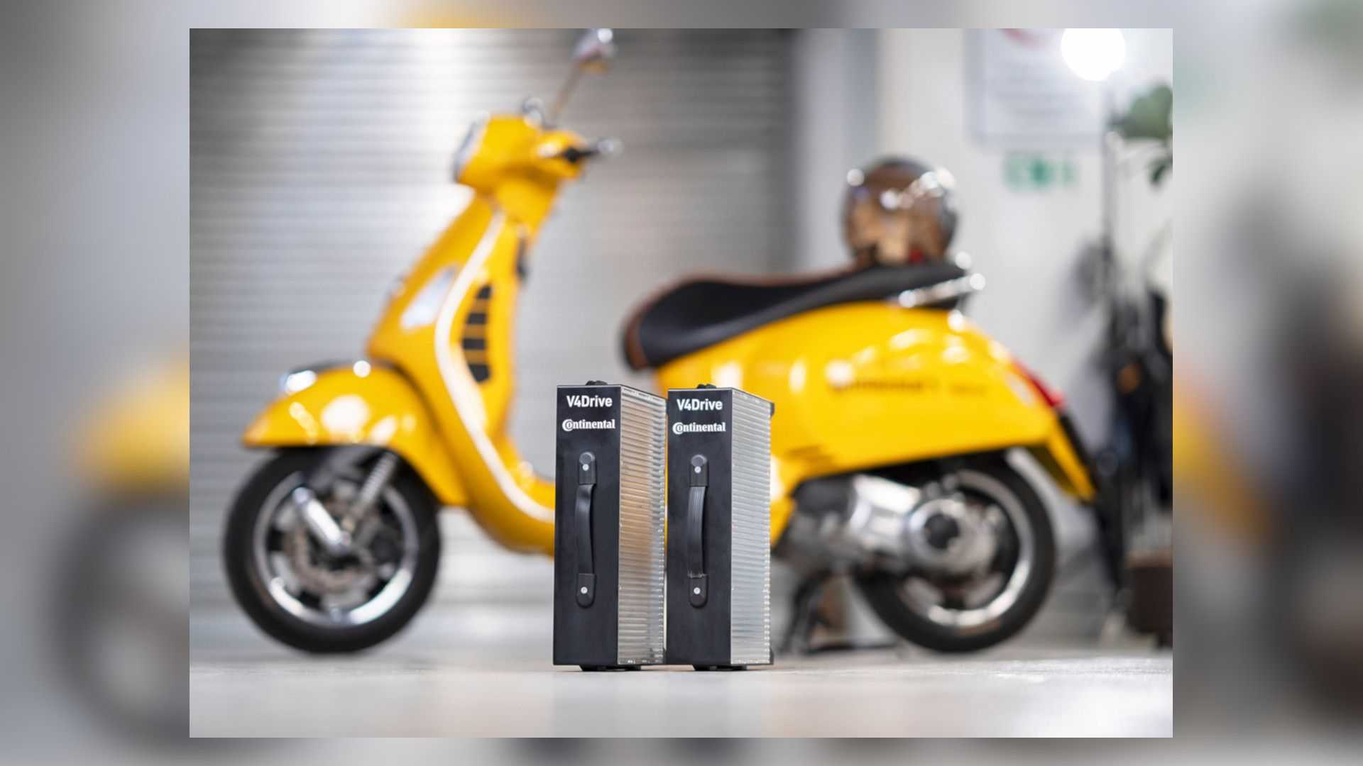 Continental and Varta V4 Drive Batteries Out Of Scoot