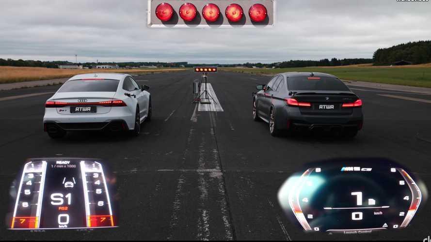 BMW M5 CS, Audi RS7 Sportback'e karşı