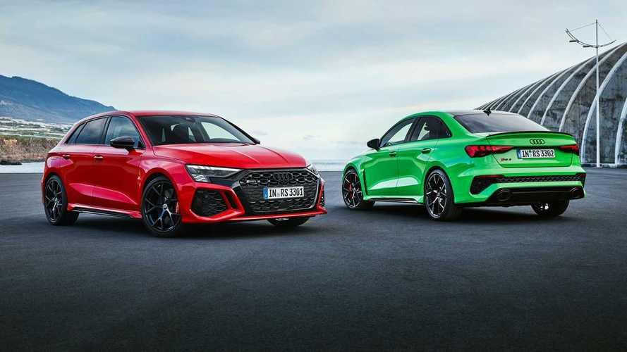 Новое поколение седана и хэтча Audi RS 3 представлено официально