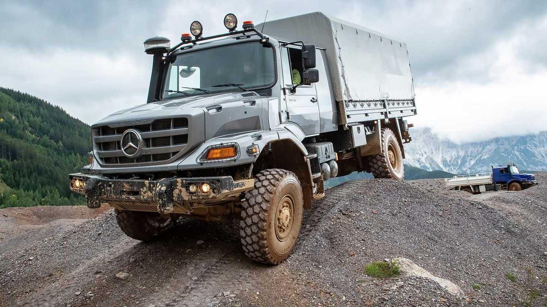 Mercedes-Benz Zetros, la autocaravana para los aventureros