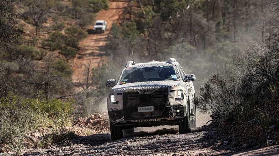 Тизеры Ford Ranger