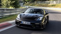Porsche 718 Cayman GT4 RS: Nordschleife-Fabelzeit vor Debüt