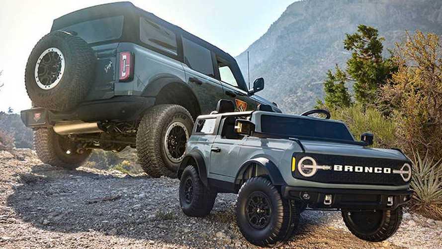 Ford Bronco diventa un'auto elettrica per piccoli fuoristradisti