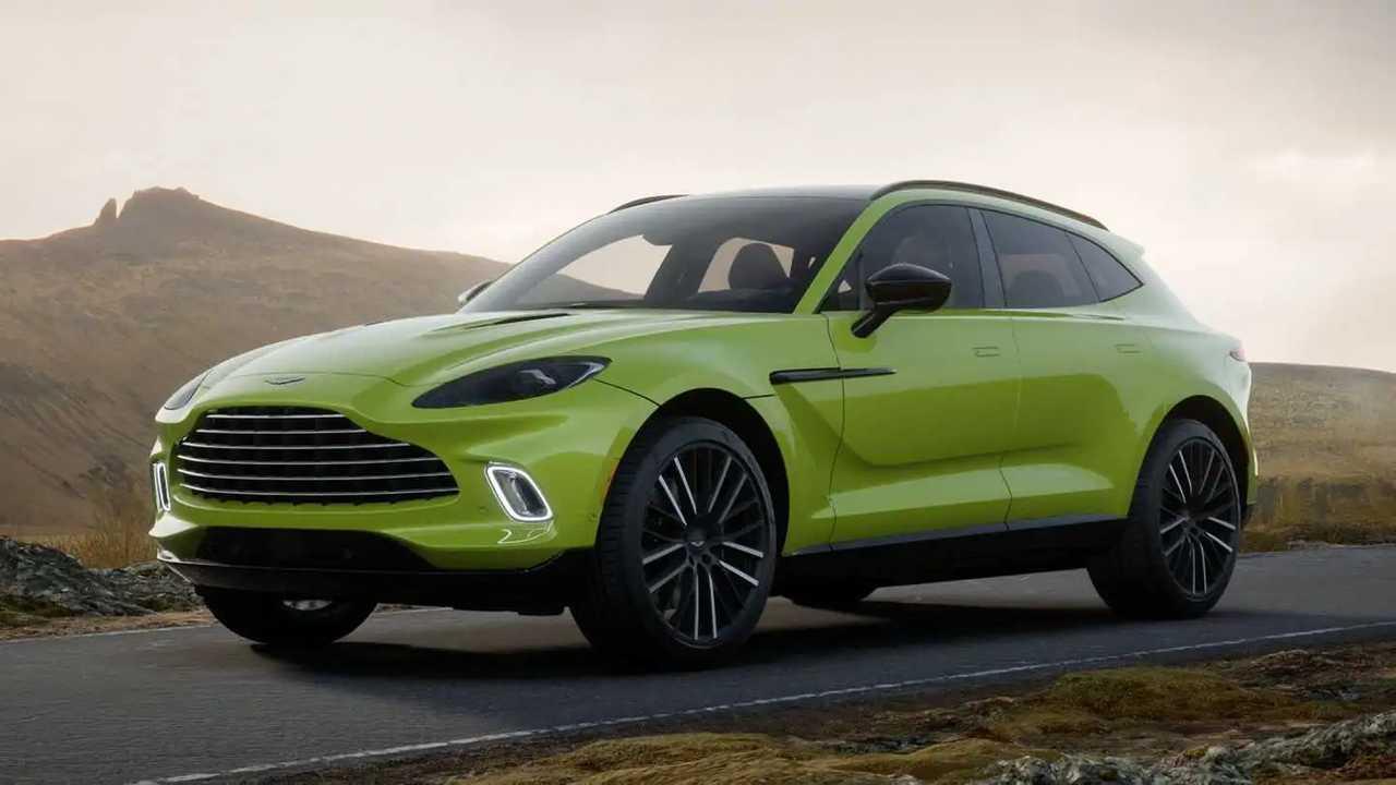 DBX leads Aston Martin H1 2021 sales