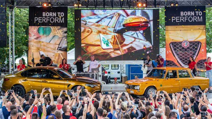 Alfa Romeo, Imparato celebra uno dei più grandi raduni al mondo